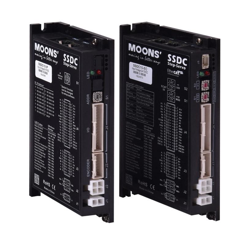 SSDC系列 多种控制模式/总线控制型 适配SSDC系列和RS系列步进伺服电机-1